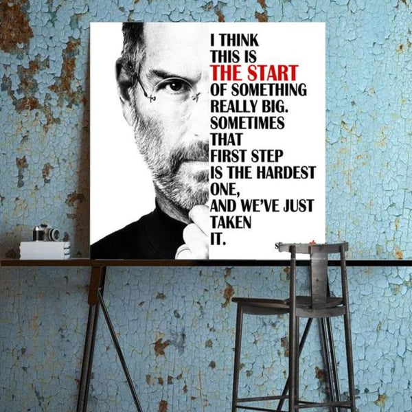 Steve Jobs Quote – Metal Poster