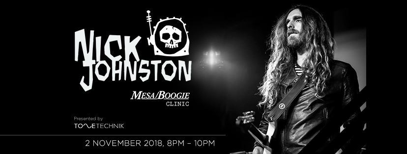 EVENTS: MESA/BOOGIE CLINIC BY NICK JOHNSTON