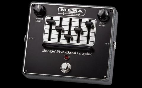 Five-Band Graphic EQ Pedal