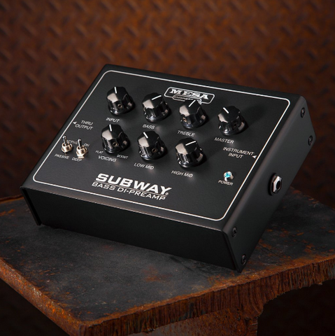 Subway Bass DI-Preamplifier