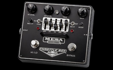 Throttle Box EQ Overdrive Pedal