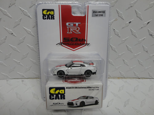 ERA CAR 50th Anniversary Edition Pearl White Nissan GT-R  1 of 1200 Made