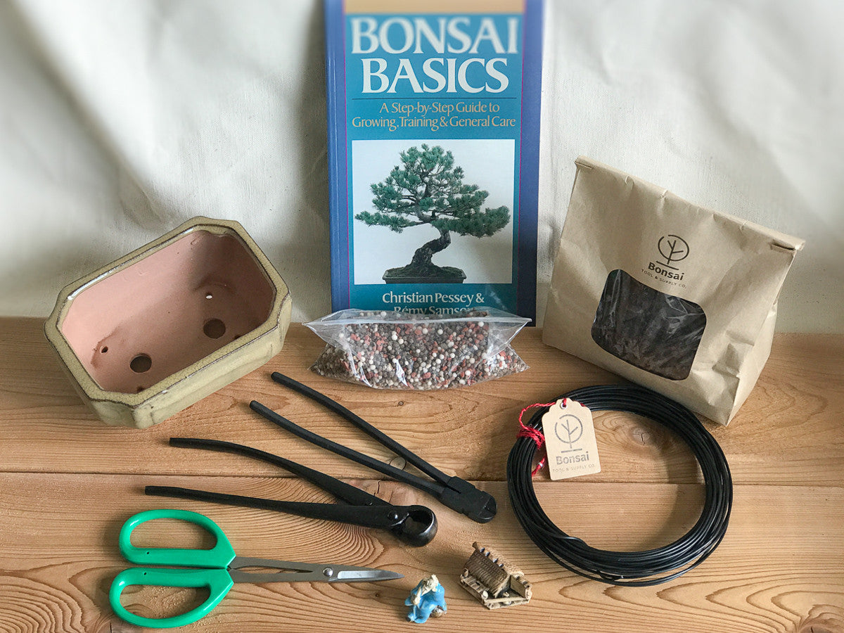 Gift set for bonsai