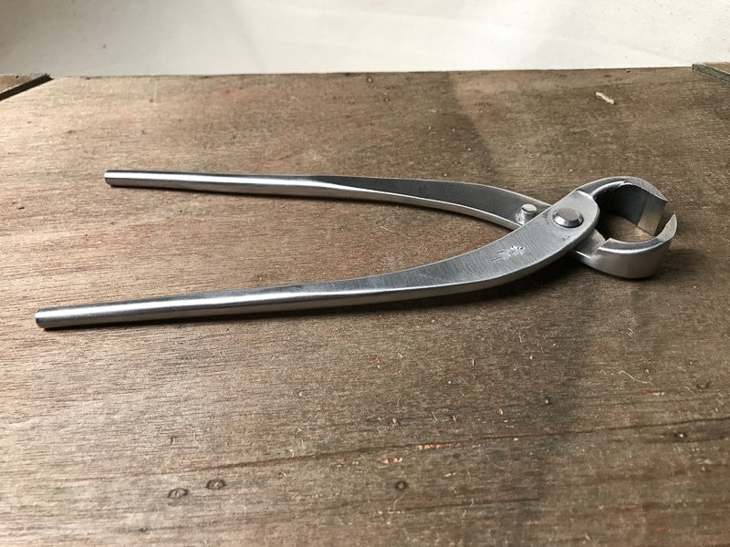 Stainless steel bonsai knob cutters