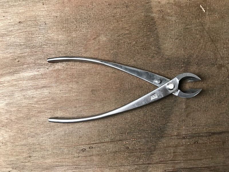 Stainless steel bonsai concave branch cutters