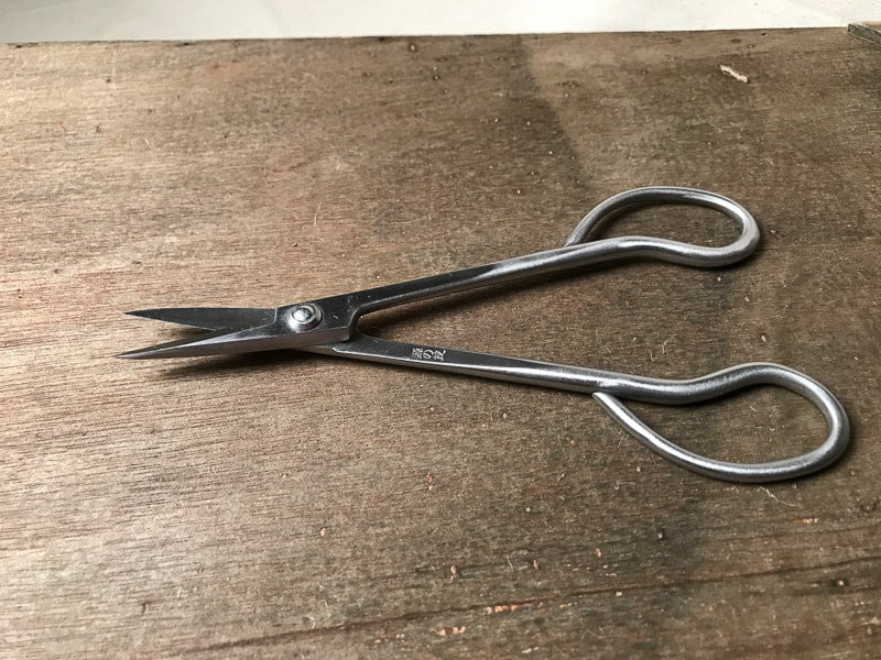 Stainless steel bonsai trimming shears