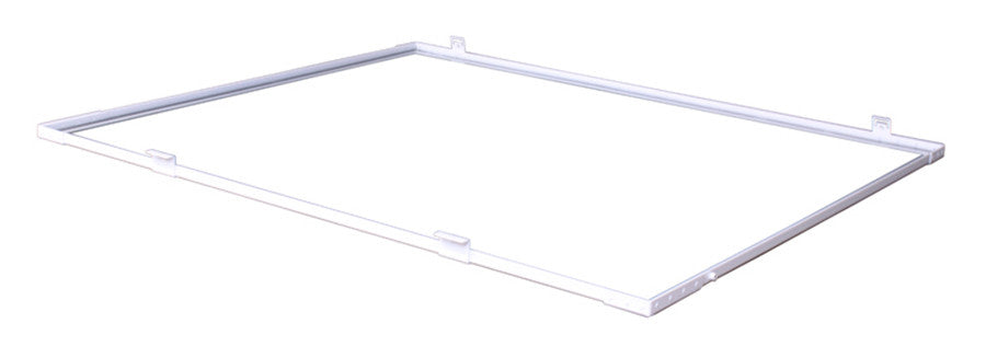 Reflector Replacement Glass Frame Assembly's-AC/DE 8 in Replacement Glass Frame Assembly