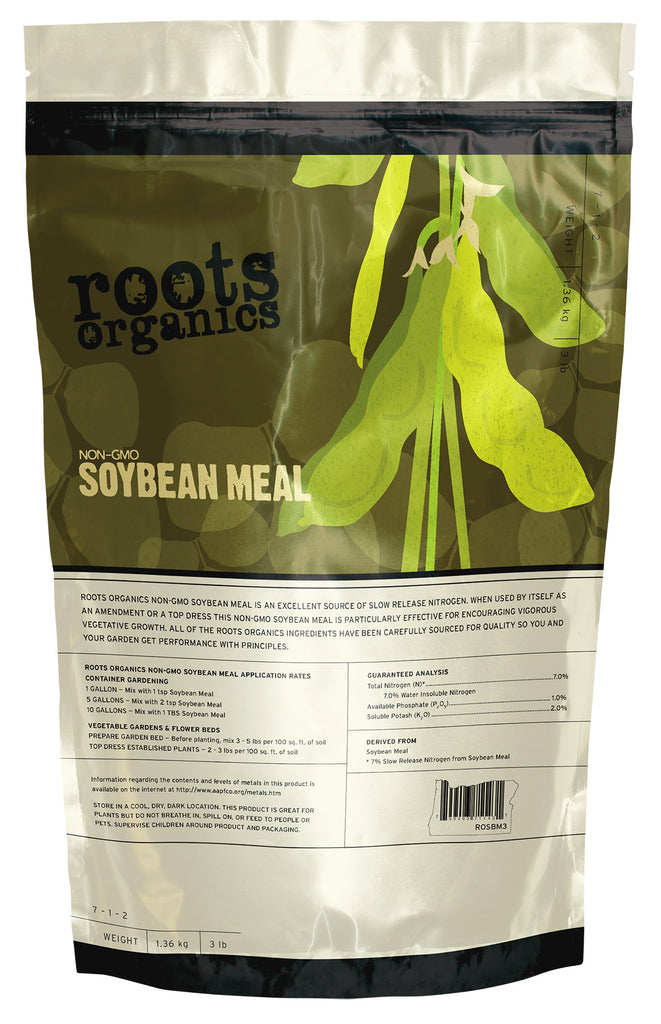 Roots Organics Non-GMO Soybean Meal 7 - 1 - 2