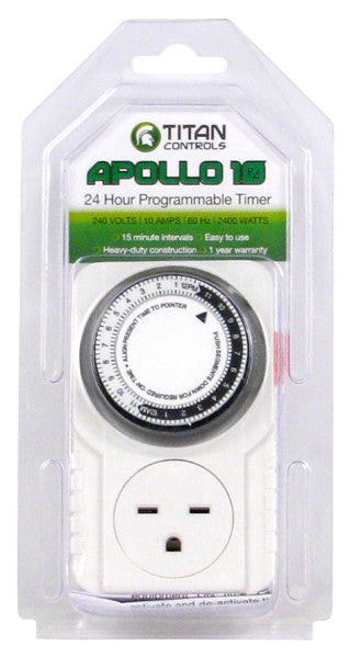 Titan Controls® Apollo® 10 - 240 Volt Mechanical Timer