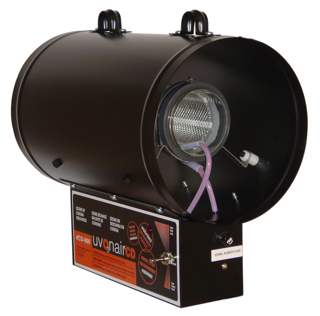 Uvonair® 8 in CD Inline Duct Ozonator - 1 Cell