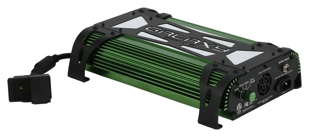 Galaxy® Grow Amp® Electronic Ballasts-Galaxy Grow Amp 1000 Watt 600/750/1000/Turbo Charge - 240 Volt Only