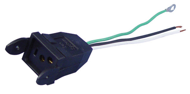 Female Receptacle For Lamp Cord