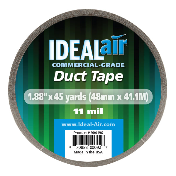 Ideal-Air™ Silver Duct Tape 2 x 45 yd (24/Cs)