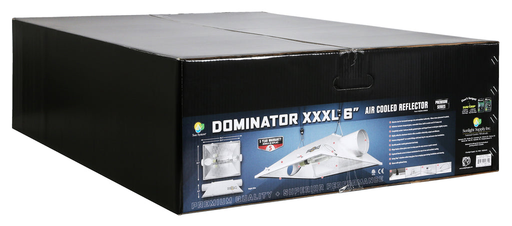 Dominator XXXL® 6 in  Air-Cooled Reflectors