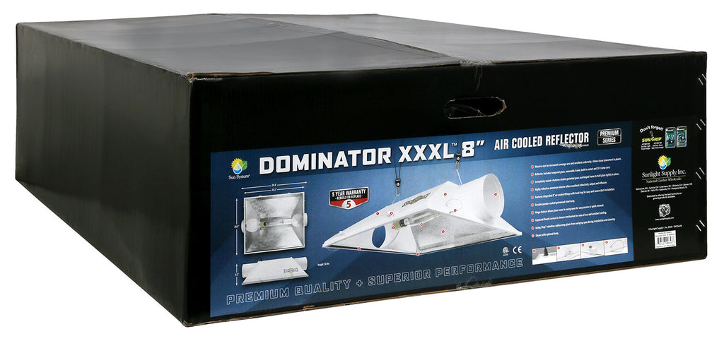 Dominator XXXL®  8 in Air-Cooled Reflectors
