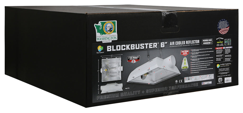 BlockBuster® 6 in Air-Cooled Reflectors - Generation 3
