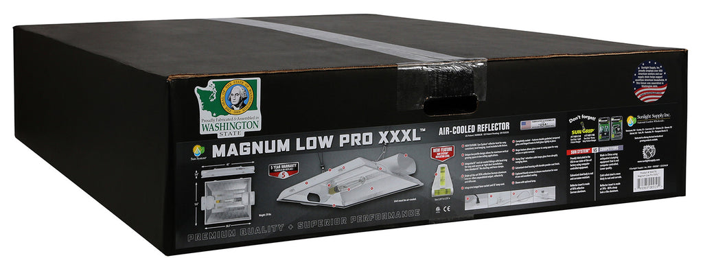Magnum Low Pro XXXL® 8 in Air-Cooled Reflector