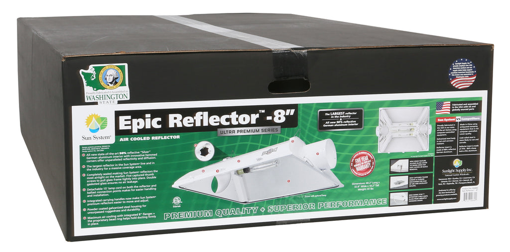 Epic Reflector® 8 in Air-Cooled