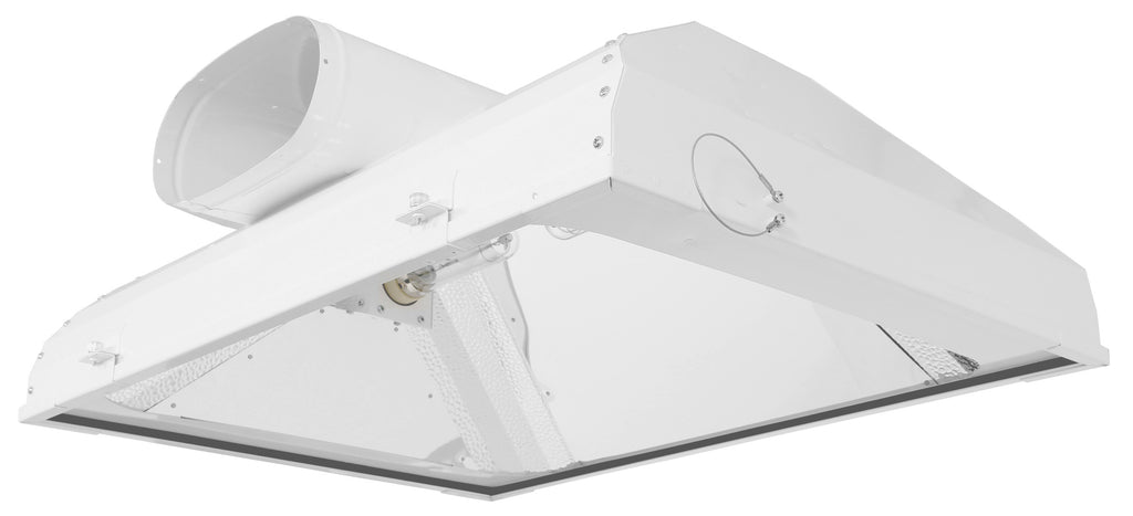 Sun System LEC 630 Air-Cooled 8 in Fixture 277 Volt w/ 3100K Lamps