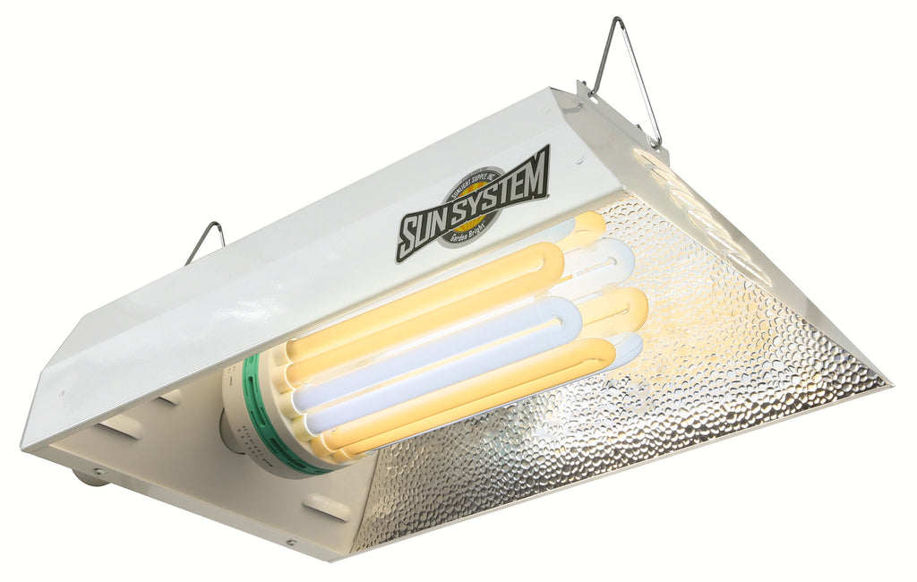 Sun System® Garden Bright® Fluorescent Grow Light - 120 Volt