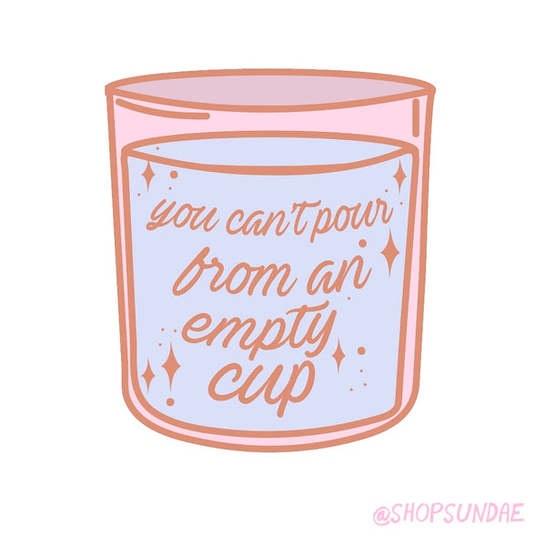 FILL YOUR CUP LAPEL PIN