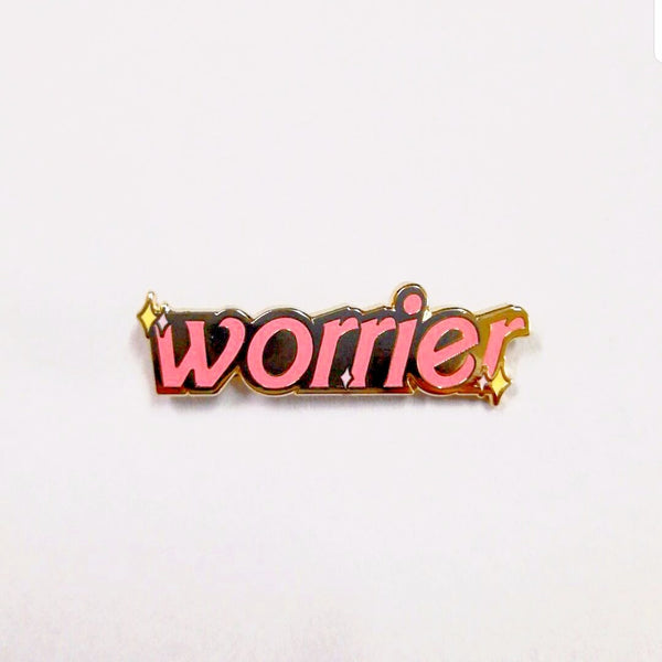 WORRIER LAPEL PIN