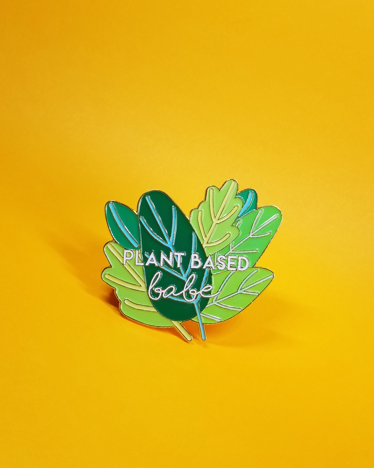 PLANT BASED BABE LAPEL PIN