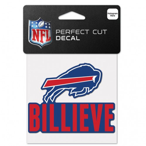 Buffalo Bills Billieve Perfect Cut Decal