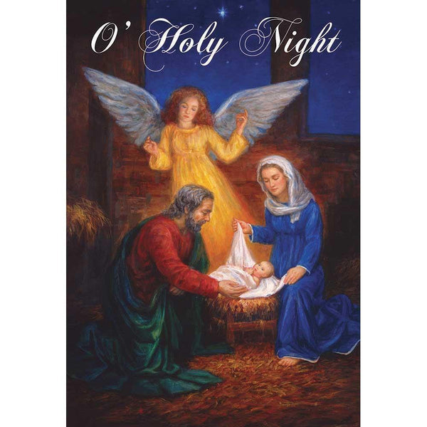 O'HOLY NIGHT PRINTED GARDEN FLAG