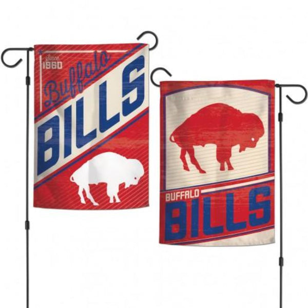 Buffalo Bills Classic Retro Logo 2-Sided Garden Flag