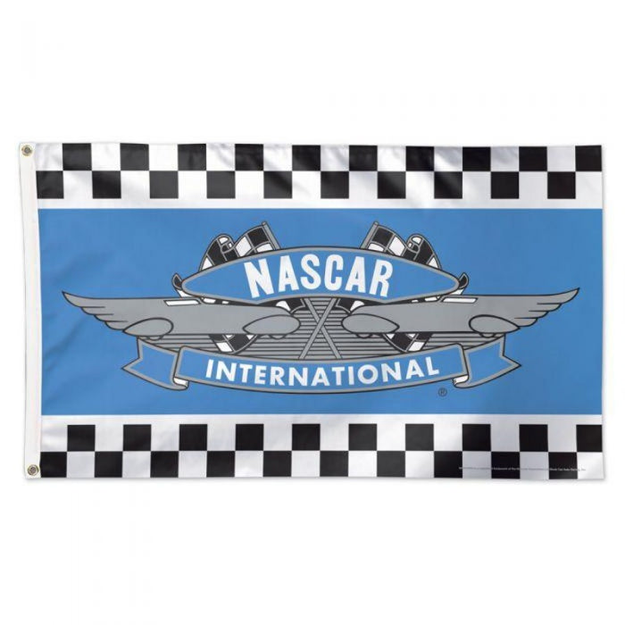 3' X 5' NASCAR INTERNATIONAL RETRO LOGO FLAG