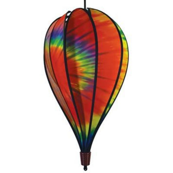 Tie Dye 10 Panel Hot Air Balloon Spinner 14x25