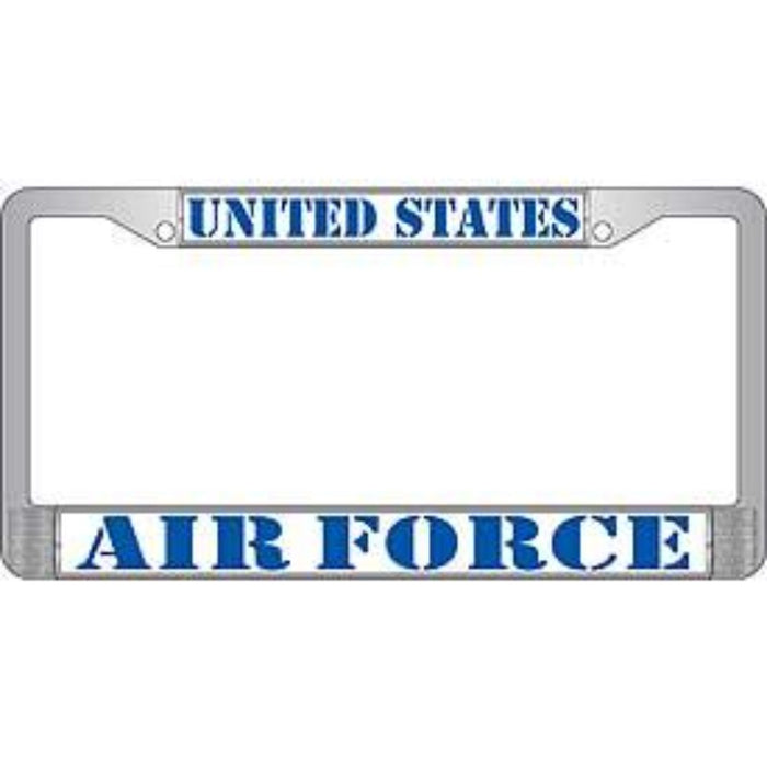 US AIR FORCE LICENSE PLATE FRAME