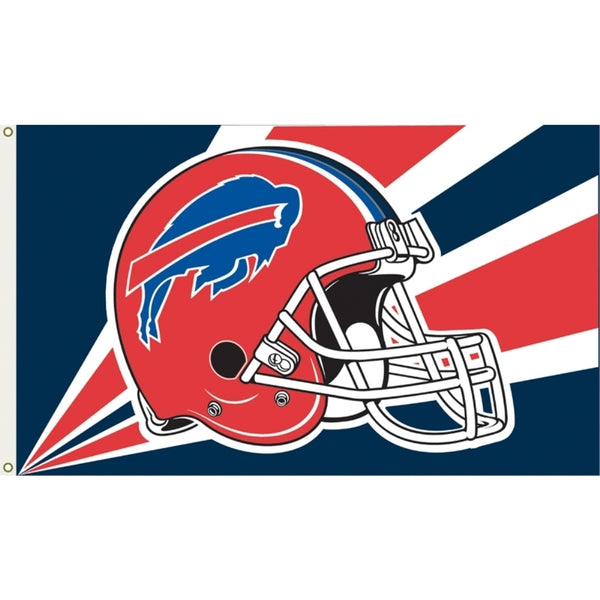 3'x5' Buffalo Bills Helmet Polyester Flag