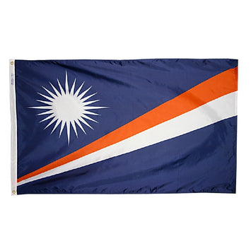 Marshall Islands Nylon Flag