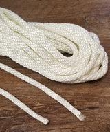 "3/8"" White Nylon Halyard for Flagpoles"