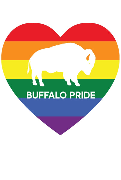 BUFFALO PRIDE DECAL