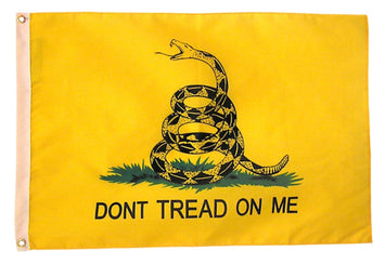 gadsden dont't tread on my nylon flag made in the usa