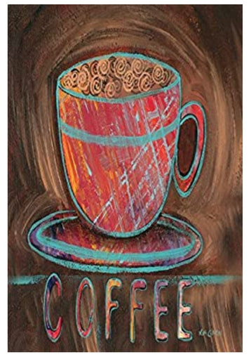 Coffee Cup Decorative Banner