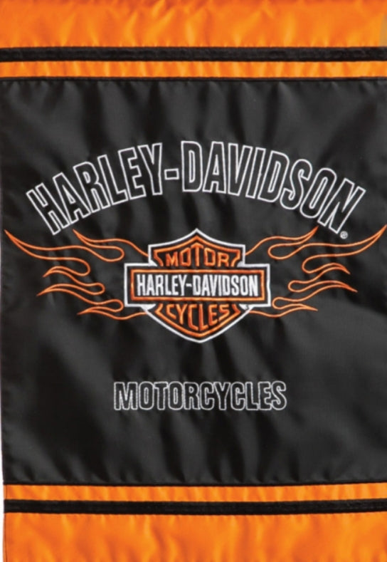 Harley Davidson Embroidered Classic Decorative Garden Flag