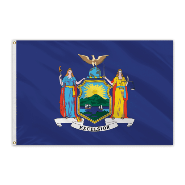 3X5' New York State Polyester Flag