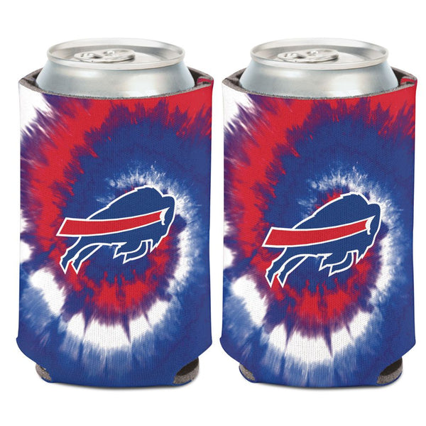 Buffalo Bills Tie Dye Can Cooler