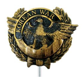 GRAVE MARKER PLASTIC KOREAN EAGLE