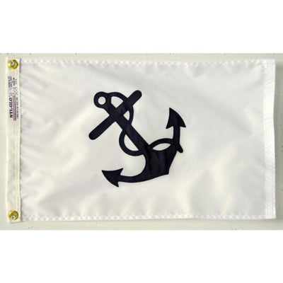 "12""x18"" Fleet Captain Nautical Flag"