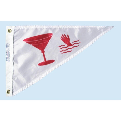 "10""x15"" Cocktail Bow Pennant Nautical Flag"