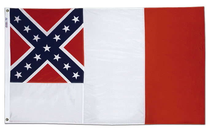 3'x5' Third Confederate Nylon Flag