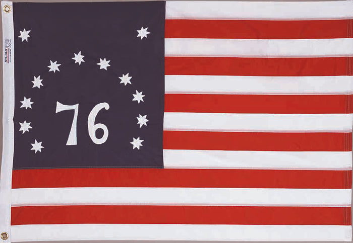 Bennington Embroidered Nylon Flag