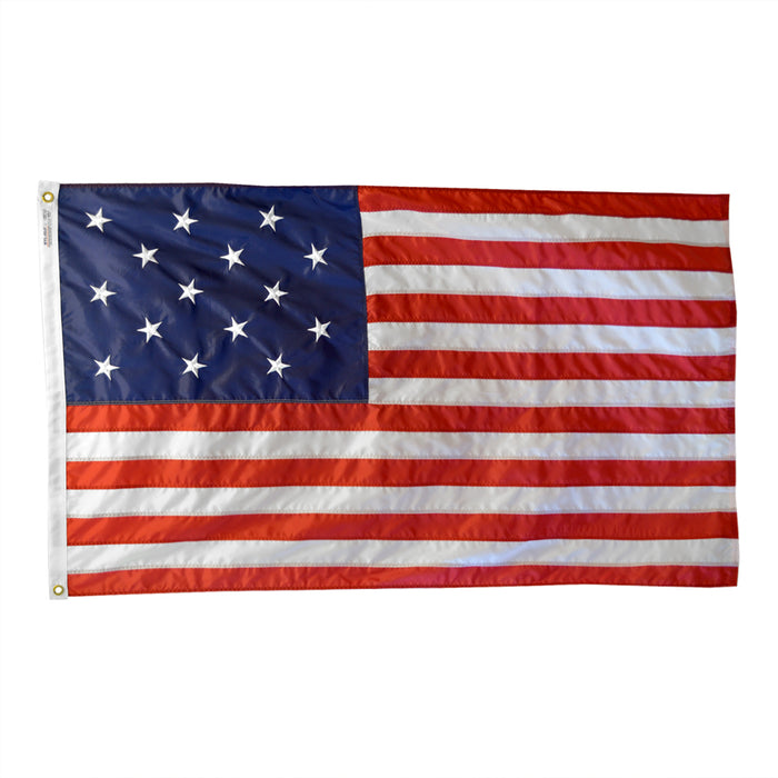 3'x5' Star Spangled Banner Embroidered Nylon Flag