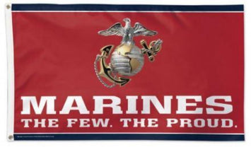 3X5 FT US MARINE CORPS POLYESTER FLAG