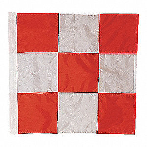 Airfield Vehicle Safety Flag 3 ft. x 3 ft.